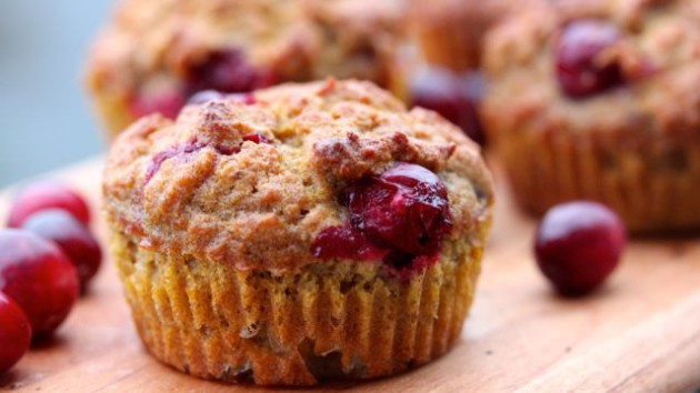Pumpkin Cranberry Muffins recipe