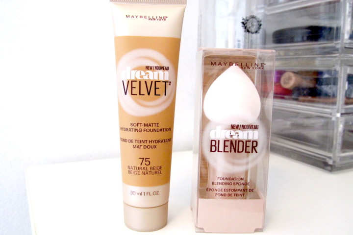 Maybelline New York Dream Velvet Foundation and Dream Blender